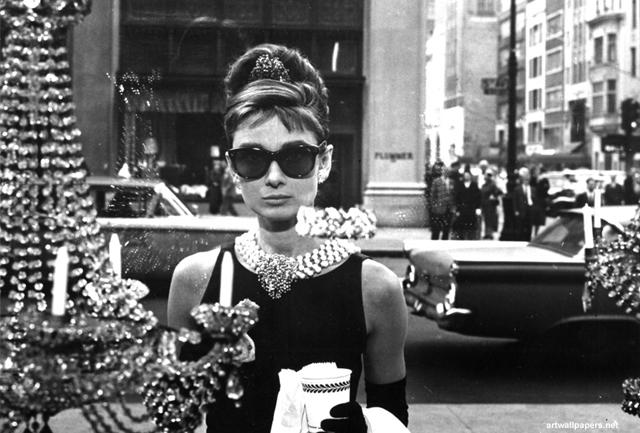 Audrey Hepburn Breakfast at Tiffanys