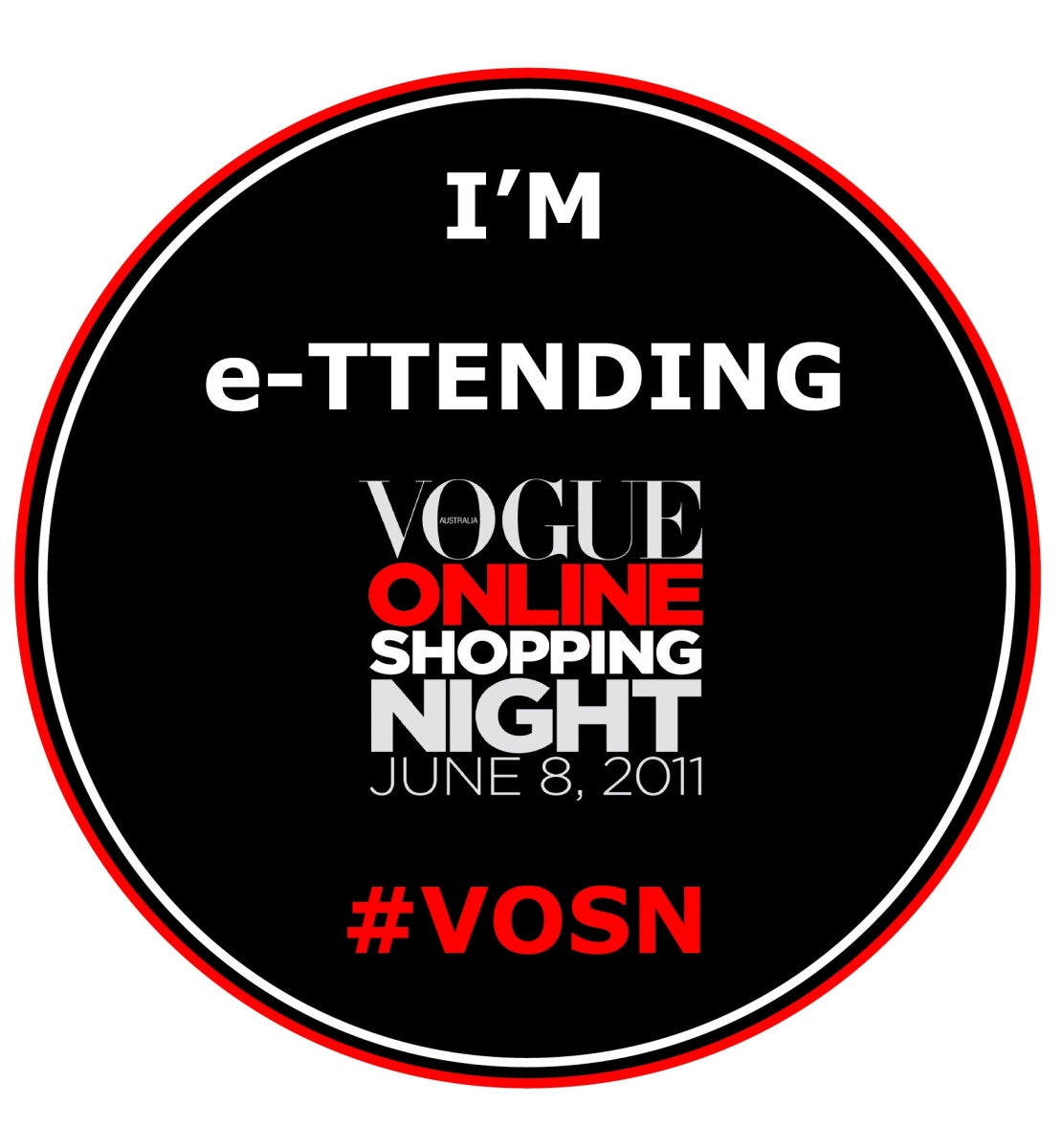 Vogue online shopping night 2018