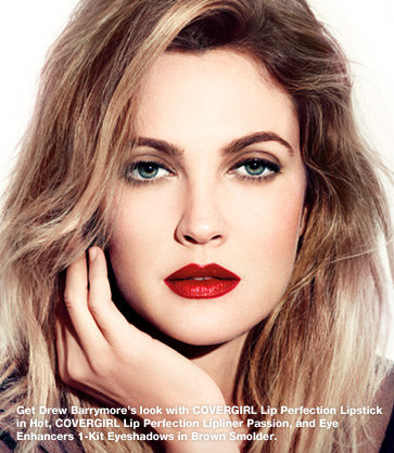 Drew Barrymore for Covergirl