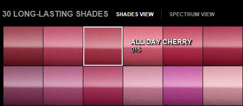 Maybelline Super Stay 24 Hour Colour, All Day Cherry