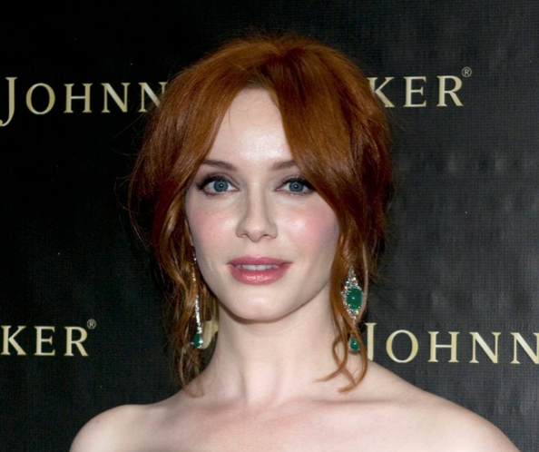 Christina Hendricks in Canturi Jewels