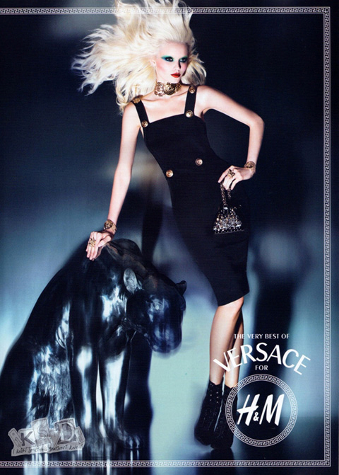 Versace for H&M panther