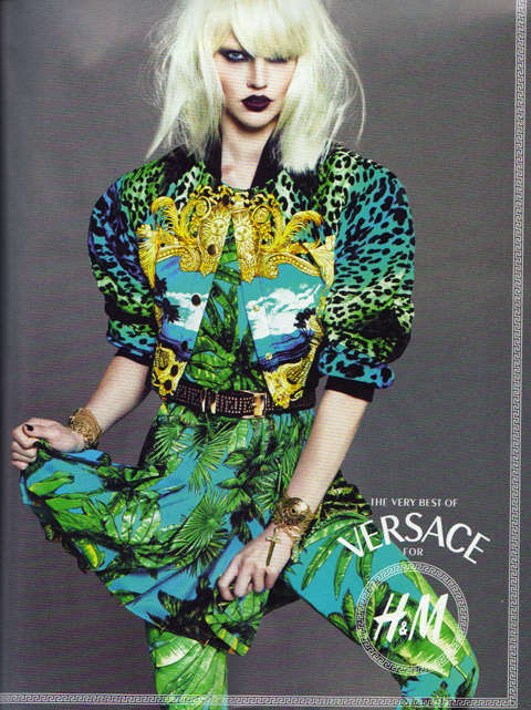 Versace for H&M prints