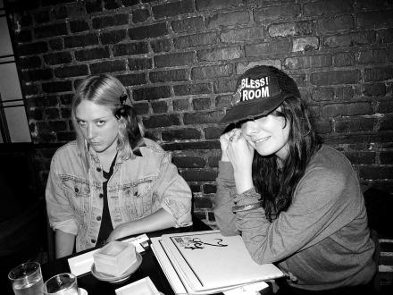 Lizzi Bougatsos and Chloë Sevigny